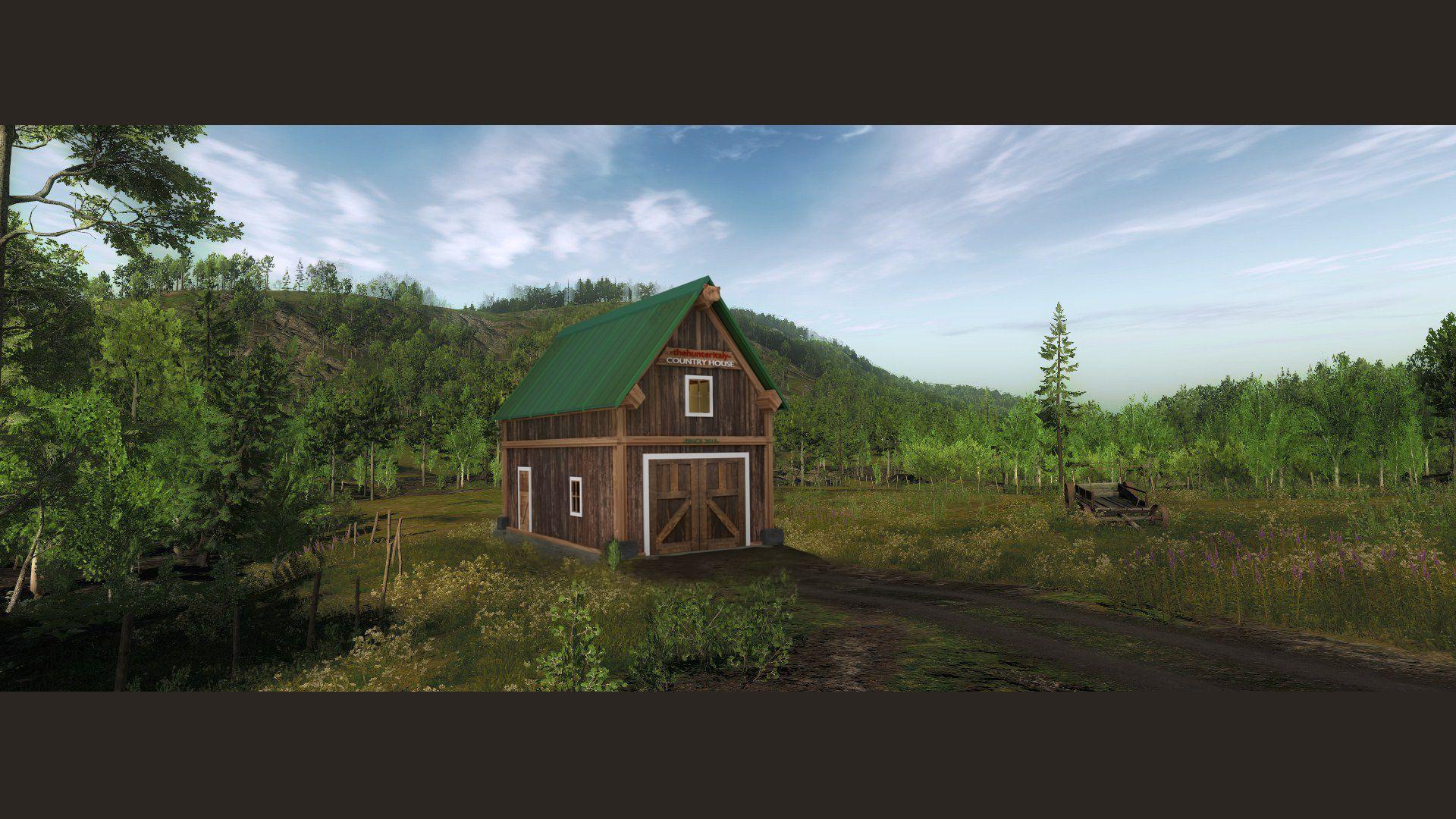 """Settler Creeks - Vecchio edificio non più """"vecchio"""". COUTRY_HOUSE_POST"""